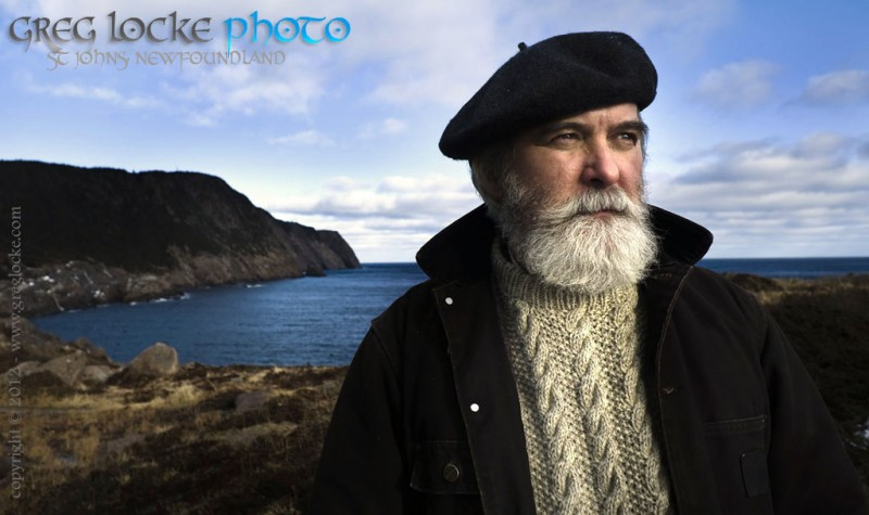 Shane Mahoney portrait in Logy Bay