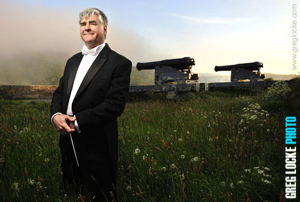Marc David, Musical Director and conductor of the Newfoundland Symphony orchestra photographed by Greg Locke in S. John's, Newfoundland © Greg Locke 2012