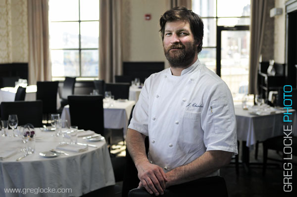 Chef Jeremy Charles of Raymond's in St. John's, Newfoundland.