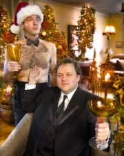 CURRENT Christmas Cover With Mr Christmas.