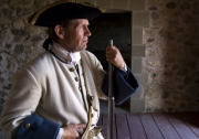 French militia, Fortress Louisbourg